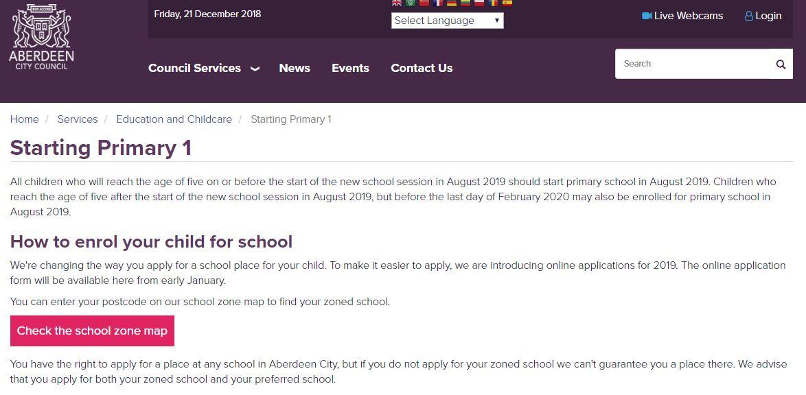 Starting Primary 1 | Heathryburn School